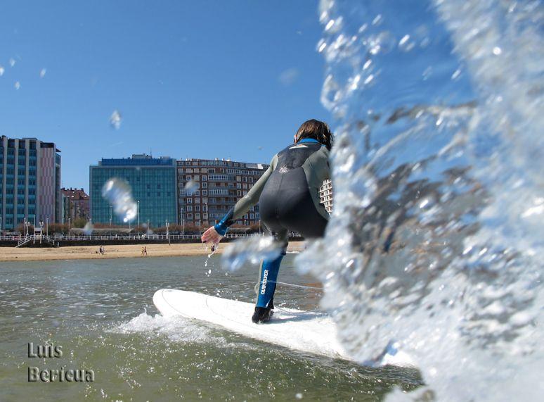 aprender a hacer surf