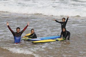 campamento de surf en Asturias