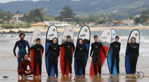 campamentos de surf en Asturias