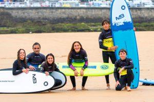 cursos de surf en Gijón